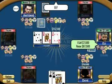 Poker Superstars III - Screen 2