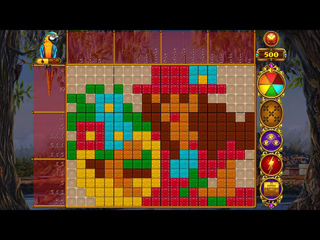 Rainbow Mosaics - Treasure Trip 2 - Screen 1