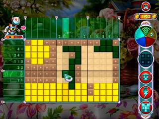 Rainbow Mosaics: Garden Helper - Screen 1