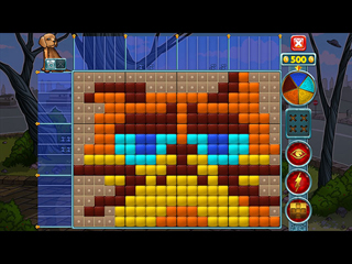 Rainbow Mosaics: Strange Thing - Screen 2