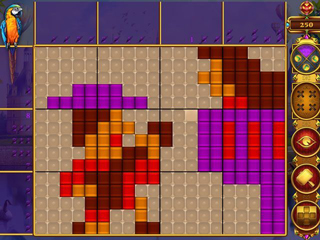 Rainbow Mosaics: Treasure Trip - Screen 1