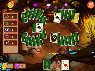 Rainforest Solitaire 2 - Screen 2