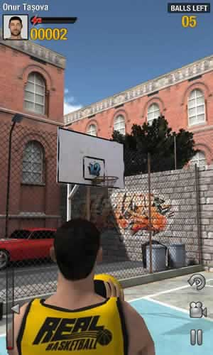 Real Basketball - Screen 1