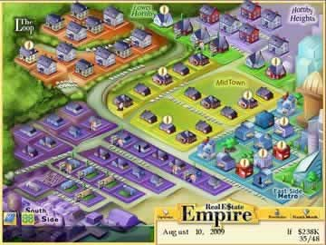 Real Estate Empire - Screen 1