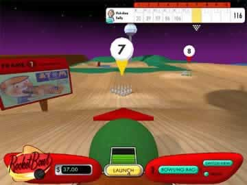 Rocket Bowl - Screen 1