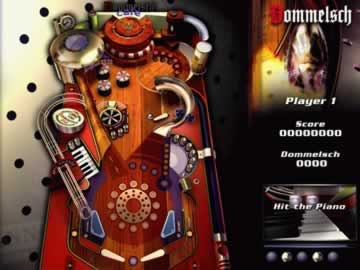 Roll Em Up Pinball - Screen 1