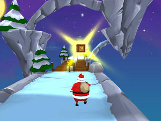 Running With Santa - Screen 2