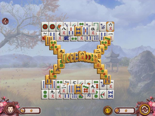 Sakura Day Mahjong - Screen 1