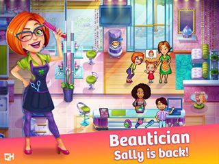 Sally's Salon - Beauty Secrets Platinum Edition - Screen 1