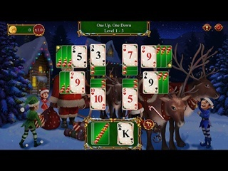Santa's Christmas Solitaire 2 - Screen 1