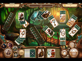 Snow White Solitaire - Charmed Kingdom - Screen 1