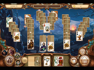 Snow White Solitaire - Charmed Kingdom - Screen 2