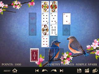 Solitaire 330 Deluxe - Screen 2