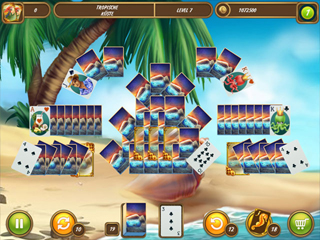 Solitaire Beach Season - A Vacation Time - Screen 1