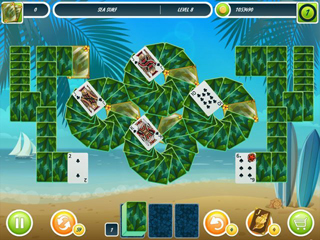 Solitaire: Beach Season - Screen 2