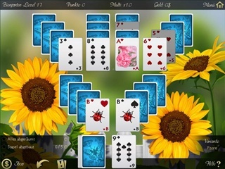 Solitaire: Beautiful Garden Season - Screen 1