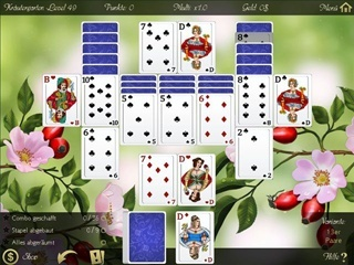 Solitaire: Beautiful Garden Season - Screen 2