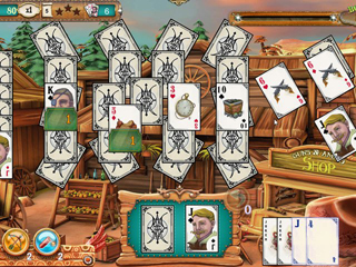 Solitaire Chronicles - Wild Guns - Screen 2