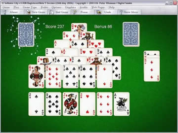 Solitaire City - Screen 1
