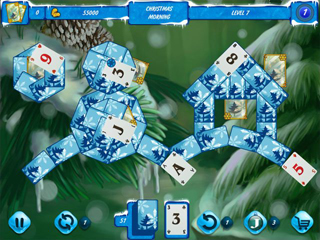 Solitaire Jack Frost Winter Adventures 2 - Screen 1