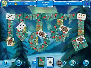 Solitaire Jack Frost Winter Adventures 2 - Screen 2