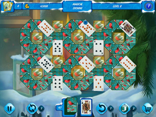 Solitaire Jack Frost Winter Adventures 3 - Screen 2
