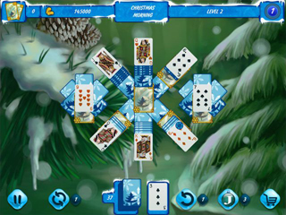 Solitaire Jack Frost Winter Adventures - Screen 1