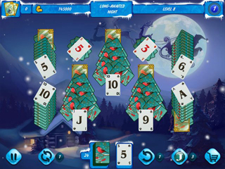 Solitaire Jack Frost Winter Adventures - Screen 2