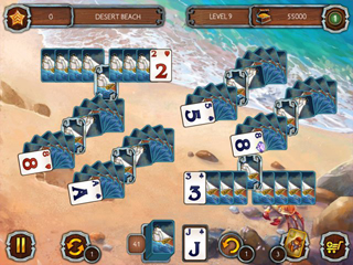 Solitaire Legend of the Pirates 2 - Screen 1