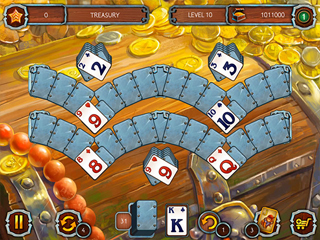Solitaire Legend of the Pirates 3 - Screen 1