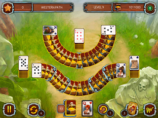 Solitaire Legend of the Pirates 3 - Screen 2