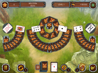 Solitaire Legend of the Pirates - Screen 2