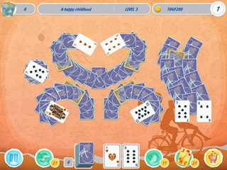 Solitaire: Valentine's Day - Match 2 Cards - Screen 1