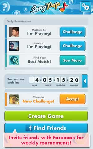 SongPop - Screen 2