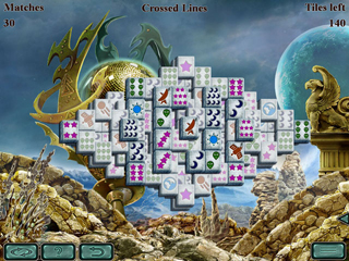 Space Mahjong - Screen 1