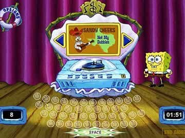 SpongeBob SquarePants Typing - Screen 2