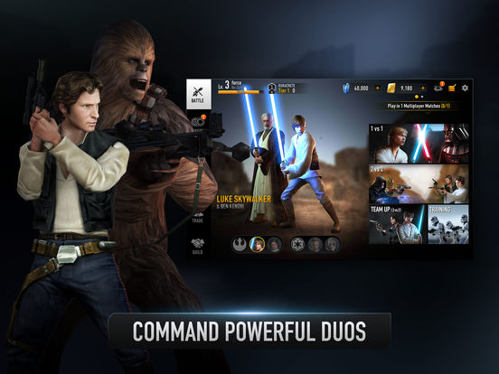 Star Wars: Force Arena - Screen 1