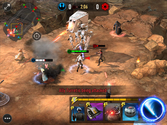 Star Wars: Force Arena - Screen 2