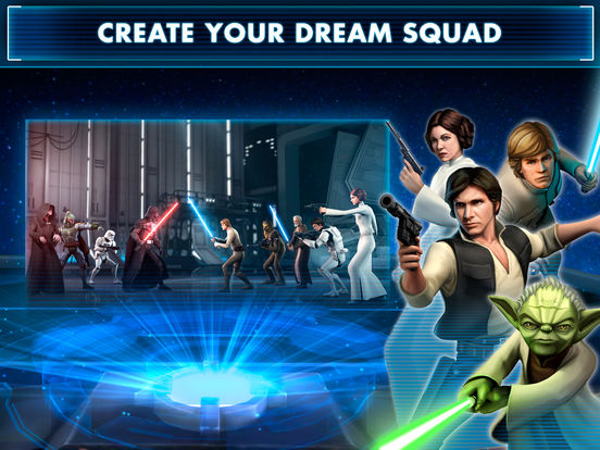 Star Wars: Galaxy of Heroes - Screen 1
