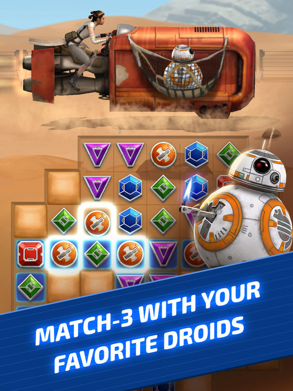 Star Wars: Puzzle Droids - Screen 1