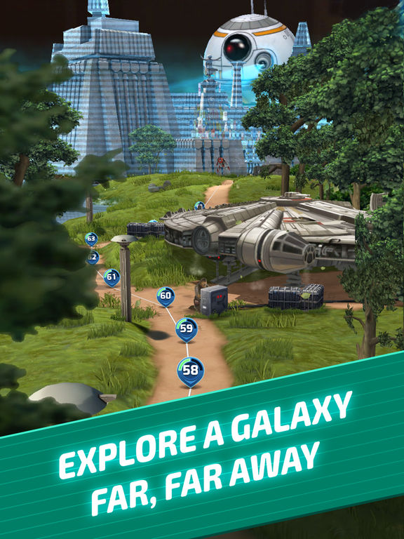 Star Wars: Puzzle Droids - Screen 2