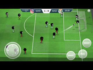 Stickman Soccer 2018 - Screen 2