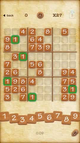 Sudoku (Finger Arts) - Screen 2