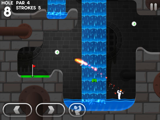 Super Stickman Golf 3 - Screen 1