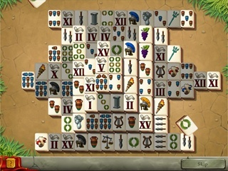 Tales of Rome Solitaire - Screen 1