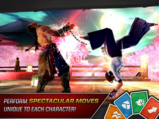 TEKKEN - Screen 1