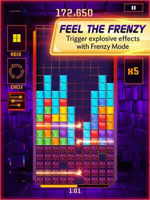Tetris Blitz - Screen 1