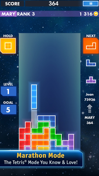 TETRIS FREE - Screen 2