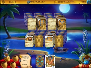 The Artifact of the Pharaoh Solitaire - Screen 1