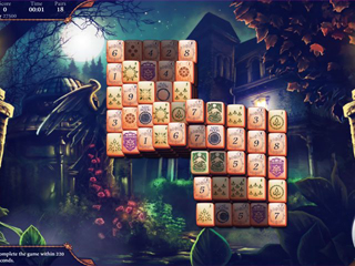 The Mahjong Huntress - Screen 1